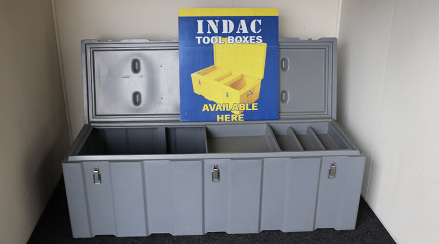 INDAC Mastercraft Tool Boxes Are Sold By Blenheim Testing Station Ltd In Marlborough